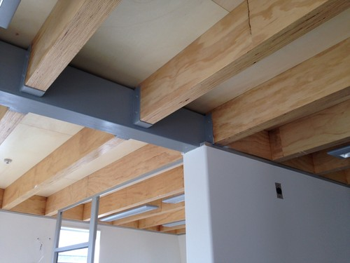I Built 90 Lvl Exposed Joists And Rafters New Zealand