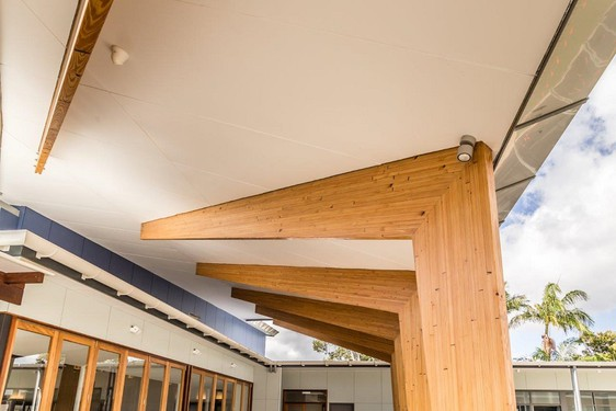 Structural Beams For A Contemporary Church New Zealand